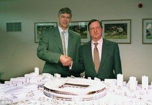 Wenger y Hillwood, en una imagen de archivo