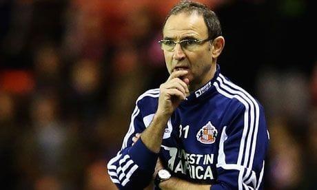 Martin O´Neill es destituido del Sunderland
