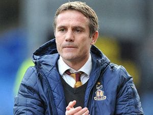 Phil Pharkinson, en un partido con el Bradford | SPORTSMOLE
