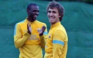 Muniesa en su etapa con el FC Barcelona.