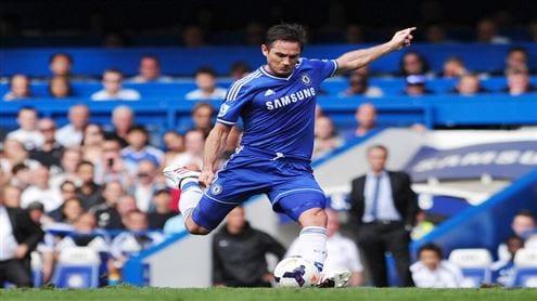 Lampard falta directa