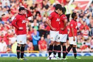 Jugadores del United incrédulos tras el segundo del City | The Mirror