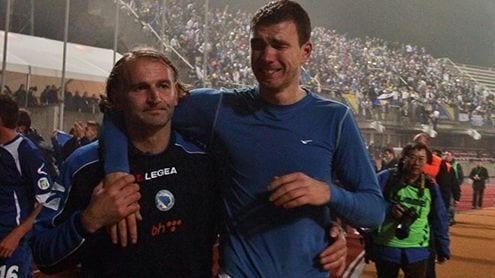 Dzeko no se creía lo que Bosnia había conseguido | UEFA