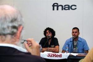Pablo Gómez, en la presentación del libro en Oviedo