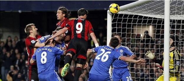 El árbitro amarga el asalto del West Bromwich a Stamford Bridge