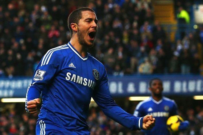 Hazard mete en la pelea al Chelsea