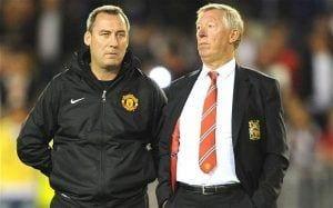 Meulensteen en su paso por el Manchester United.