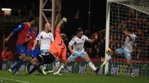 Chamakh marcaría el único tanto del partido.
