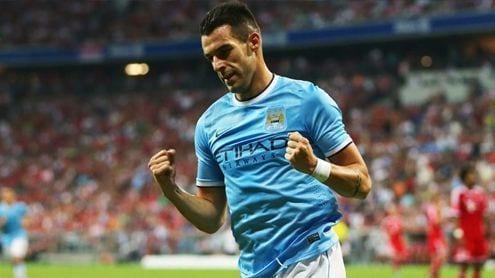 Álvaro Negredo, killer del Manchester City