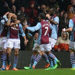 Partidazo espectacular con siete goles en el Villa Park