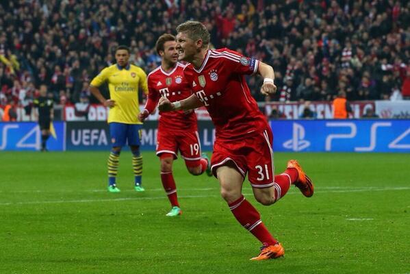 El Arsenal se despide de la Champions sin haber sido rival para el Bayern