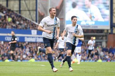 Dzeko-Everton-City