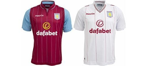 Así vestirá el Aston Villa en la 2014-2015 | Home & Away kit