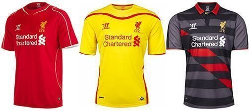 Así vestirá el Liverpool en la 2014-2015 | Home & Away kit