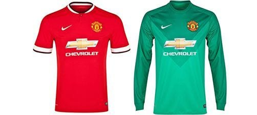 Así vestirá el Manchester United en la 2014-2015 | Home & Goalkeeper kit