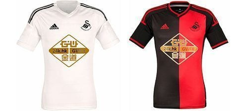 Así vestirá el Swansea en la 2014-2015 | Home & Away kit