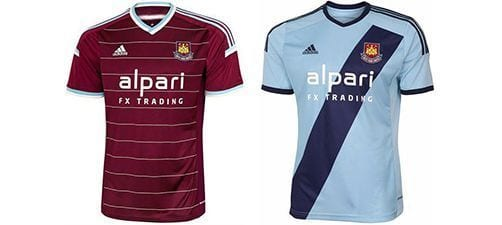 Así vestirá el West Ham en la 2014-2015 | Home & Away kit