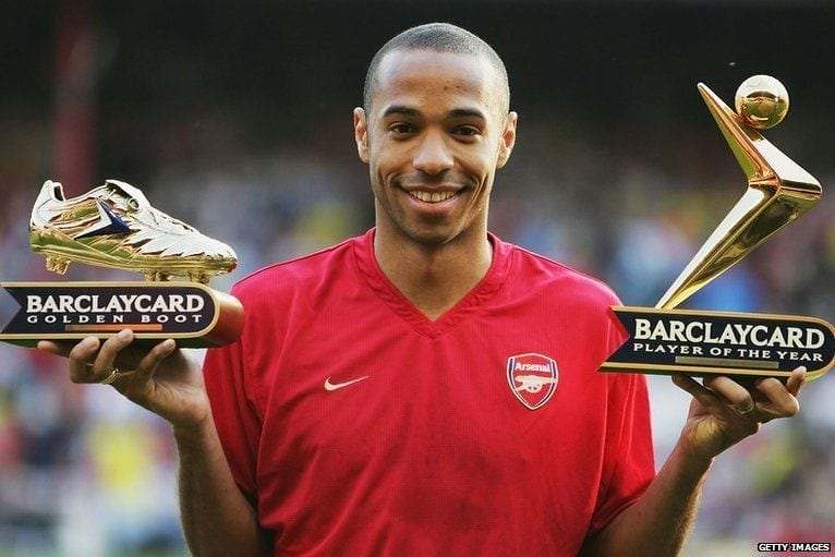 Thierry Henry, pasen y lean