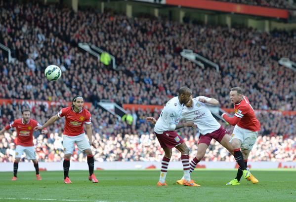 El Aston Villa, la víctima preferida de Rooney