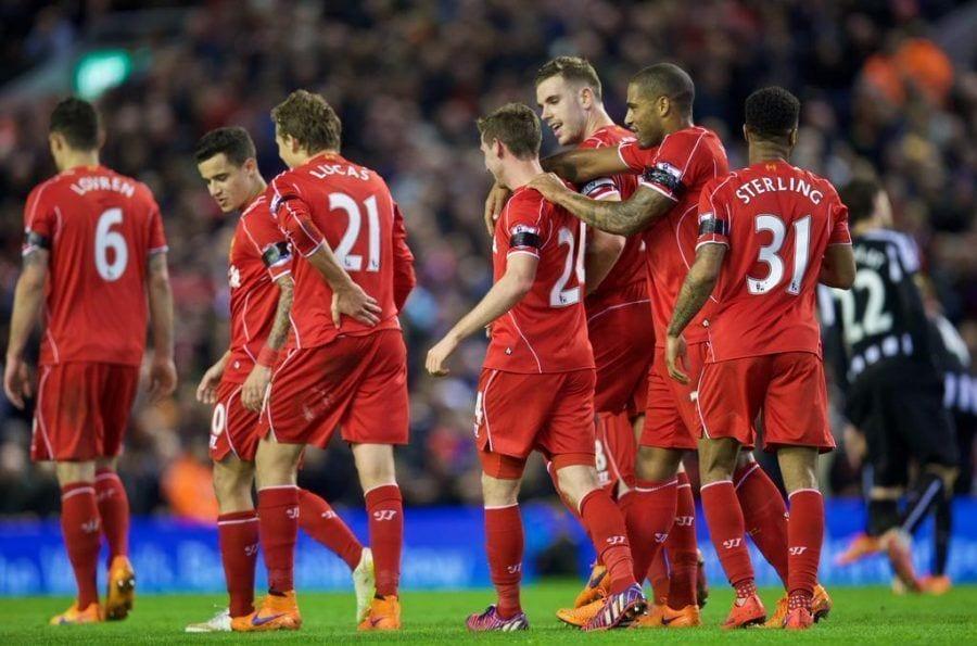 El Liverpool se reencuentra con la victoria a costa del Newcastle