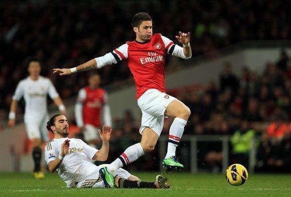 Precedentes entre Arsenal y Swansea en la Premier League