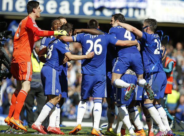 Hazard hace campeón al Chelsea