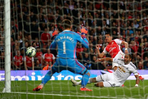 Fabianksi y diez más derrotan al Arsenal