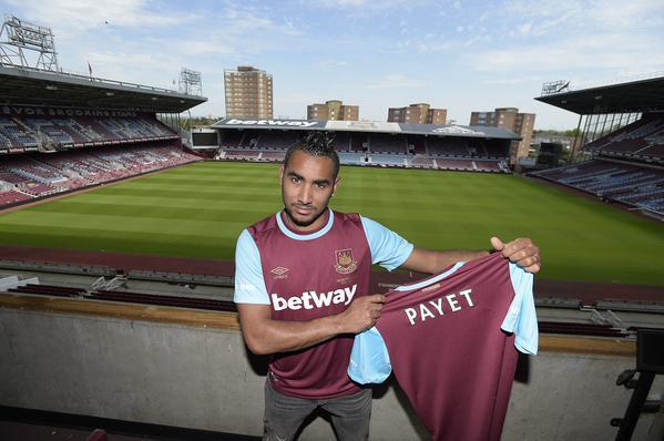 Dimitri Payet, nuevo jugador del West Ham