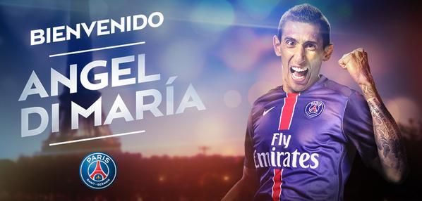 El PSG anuncia el fichaje de Di María