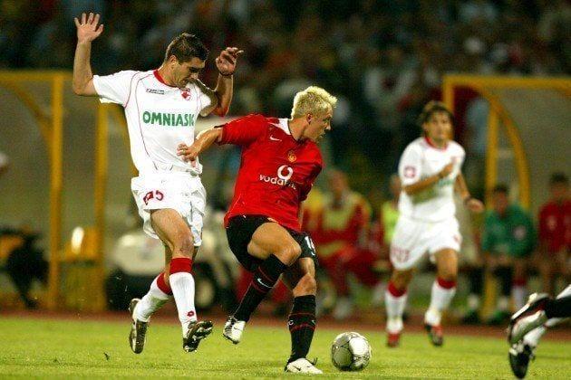 El Manchester United en la previa de la Champions League