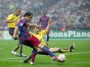 El Barça puede agudizar la maldición del Arsenal