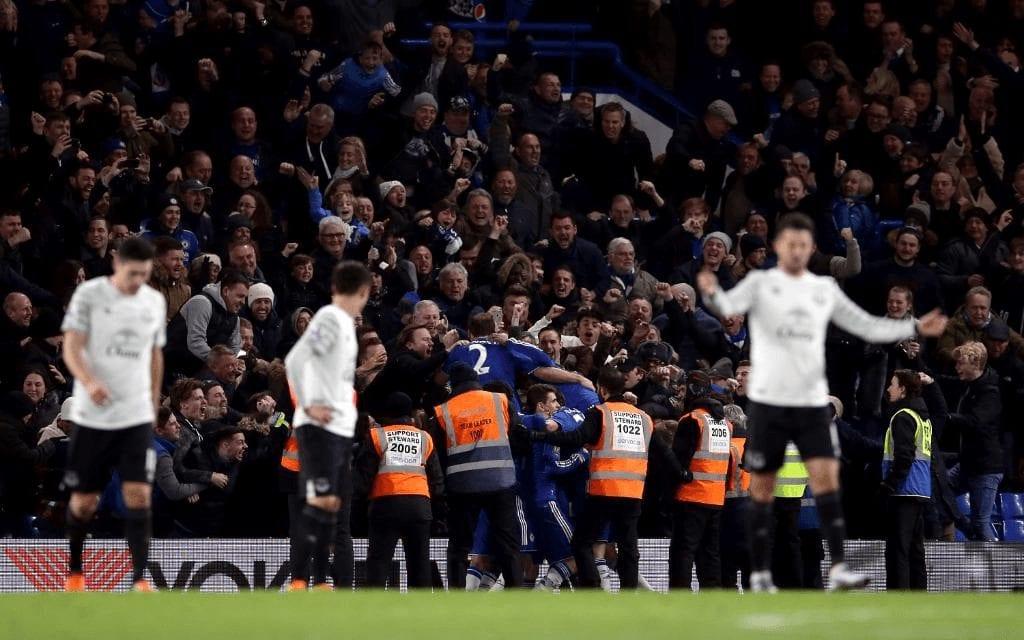 Un punto para Chelsea y Everton tras una segunda parte de película