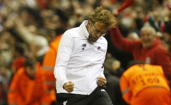 Remontada de locura del Liverpool para entrar en semifinales
