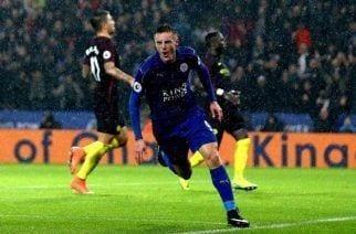 Jamie Vardy y la nefasta defensa del City le dan el triunfo al Leicester