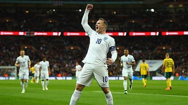 Inglaterra - Lituania Rooney