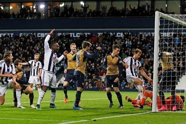 WBA - Arsenal