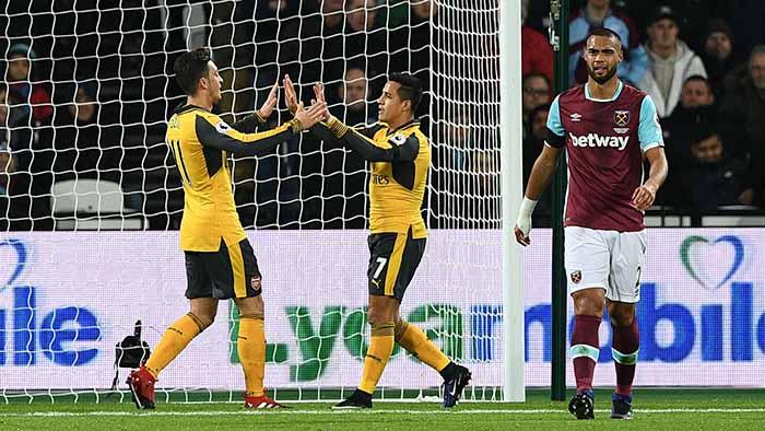 Arsenal West Ham Alexis