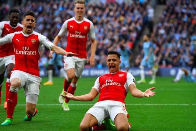 Arsenal Manchester City Alexis