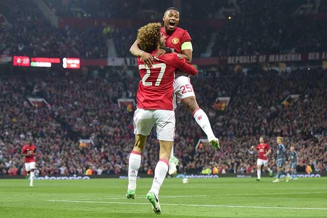 Fellaini Manchester United Celta