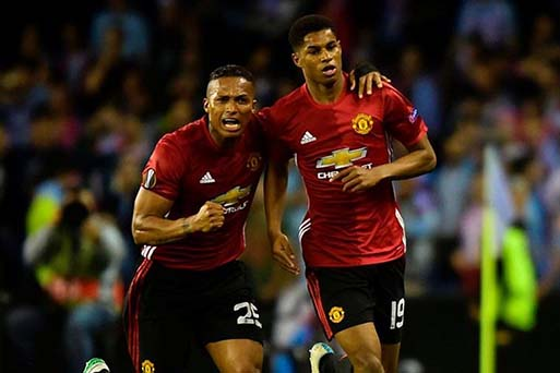 Rashford Manchester United Celta