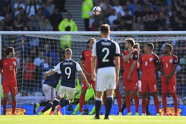 Inglaterra Escocia Griffiths