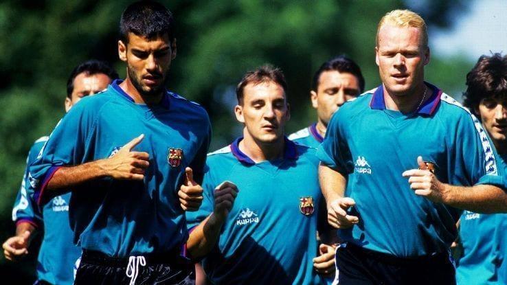 koeman guardiola barça barcelona manchester city everton