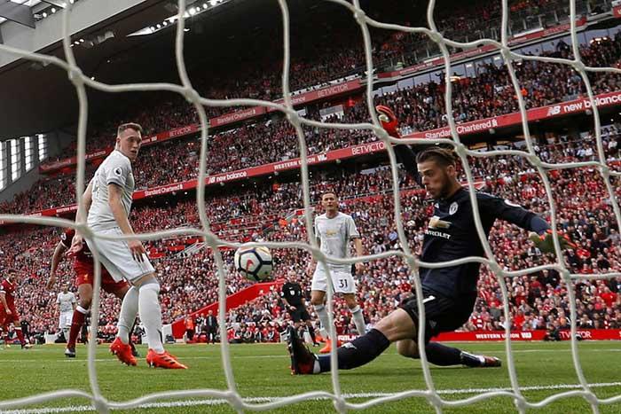David de Gea. Liverpool Manchester United