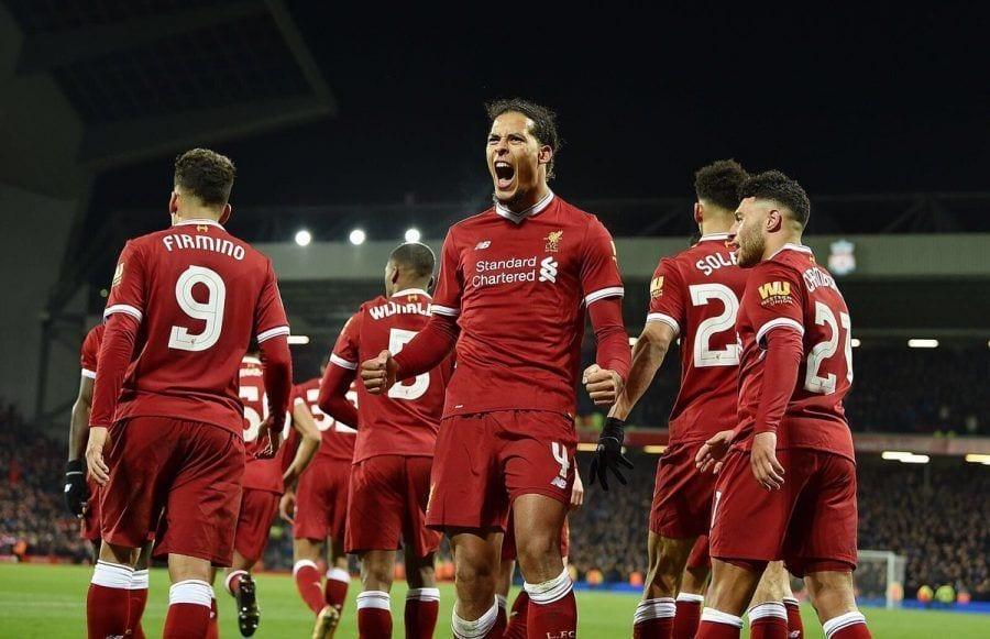 Camiseta Liverpool Virgil van Dijk