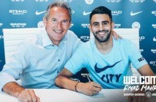 Mahrez ficha por el Manchester City