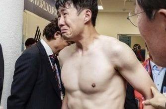 Las lágrimas de Heung-Min Son
