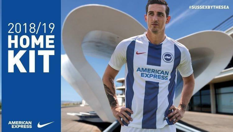 Brighton Kit Camiseta Jersey 2018-19