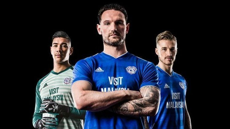 Cardiff Kit Camiseta Jersey 2018-19