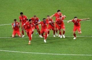 Inglaterra sobrevive a Colombia y está en Cuartos