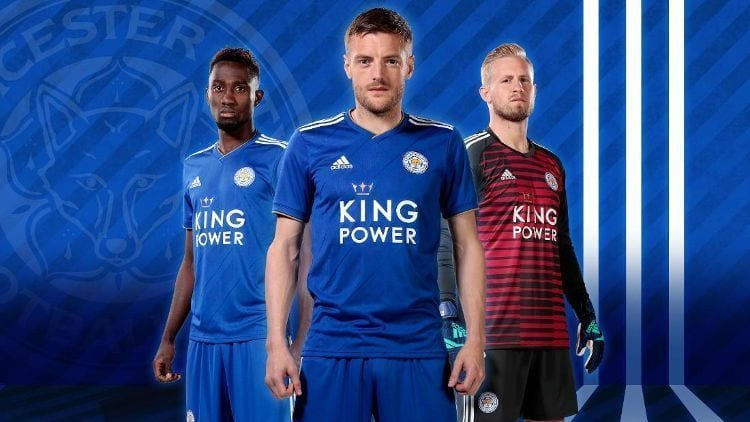 Leicester City Kit Jersey Camiseta 2018-19